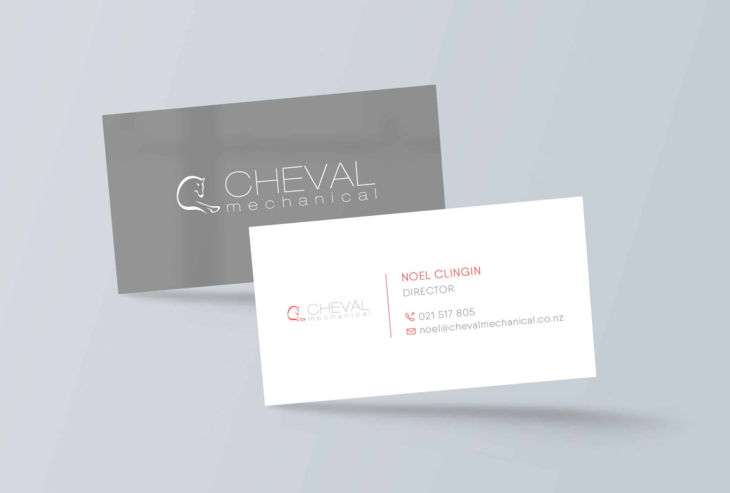 Graphic design services - business card design