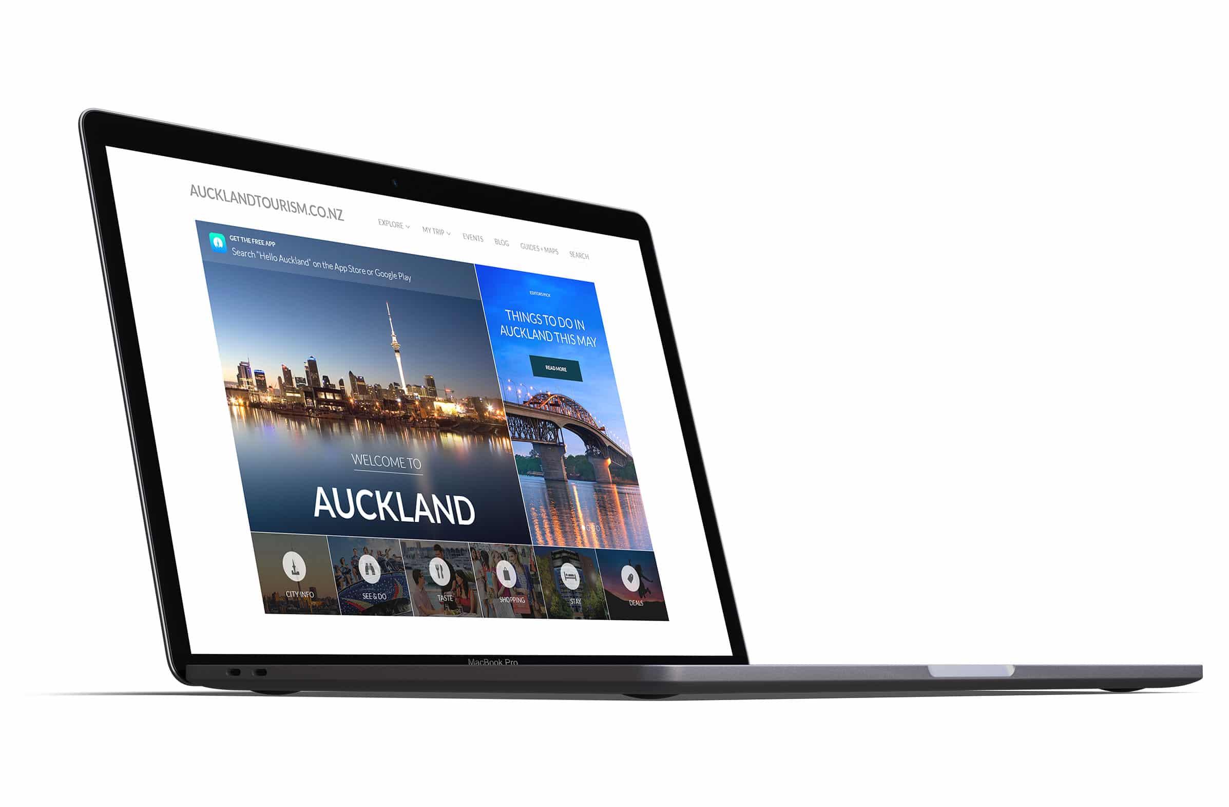 Auckland Tourism Website