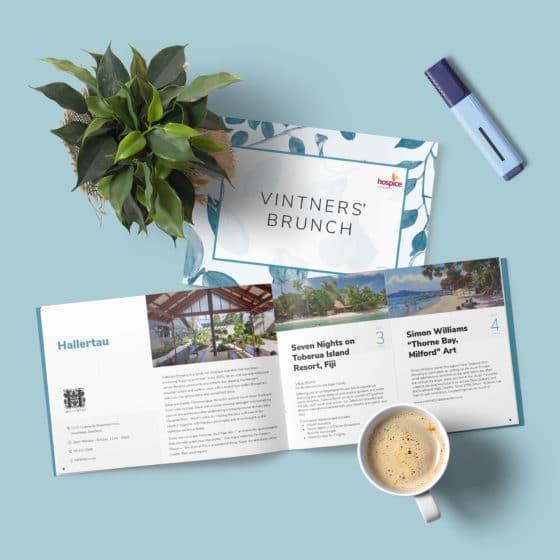 Rebranding of company's brochure design