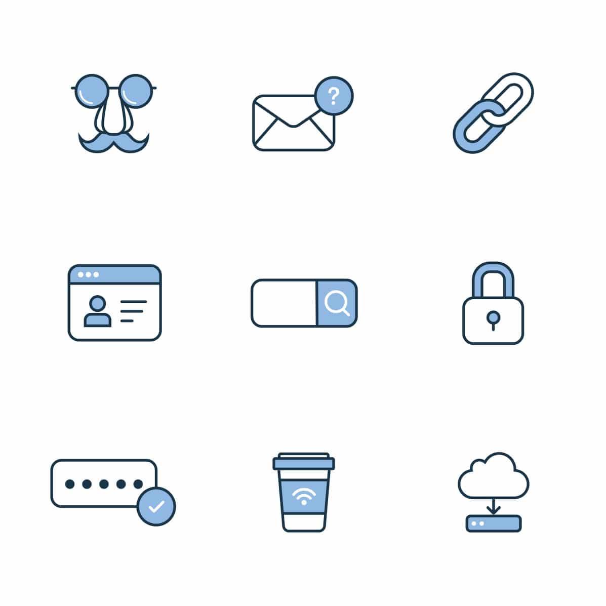 Flat icon design at White Rabbit