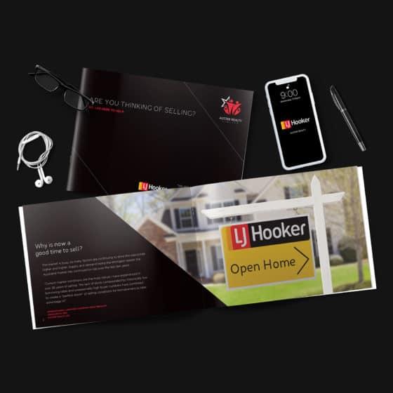 LJ Hooker brochure