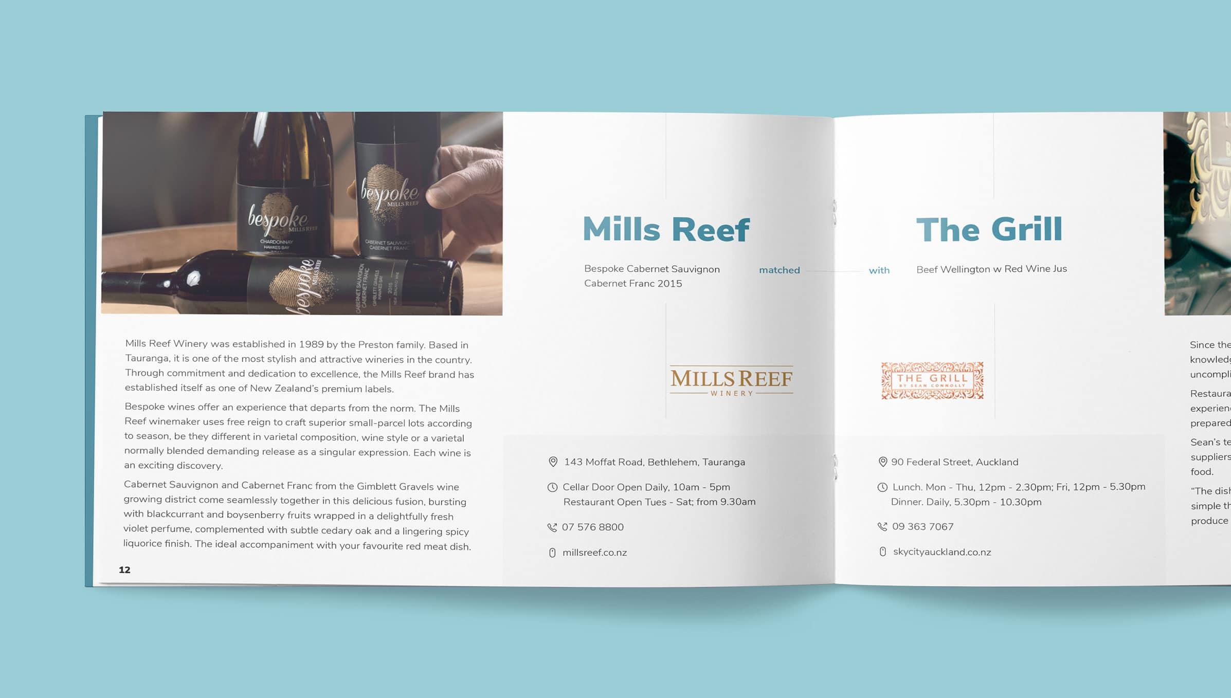 Rebranding of company brochure design
