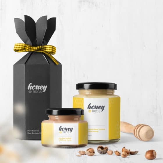 Honey packaging design