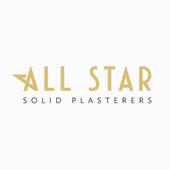 Logo for plastering company