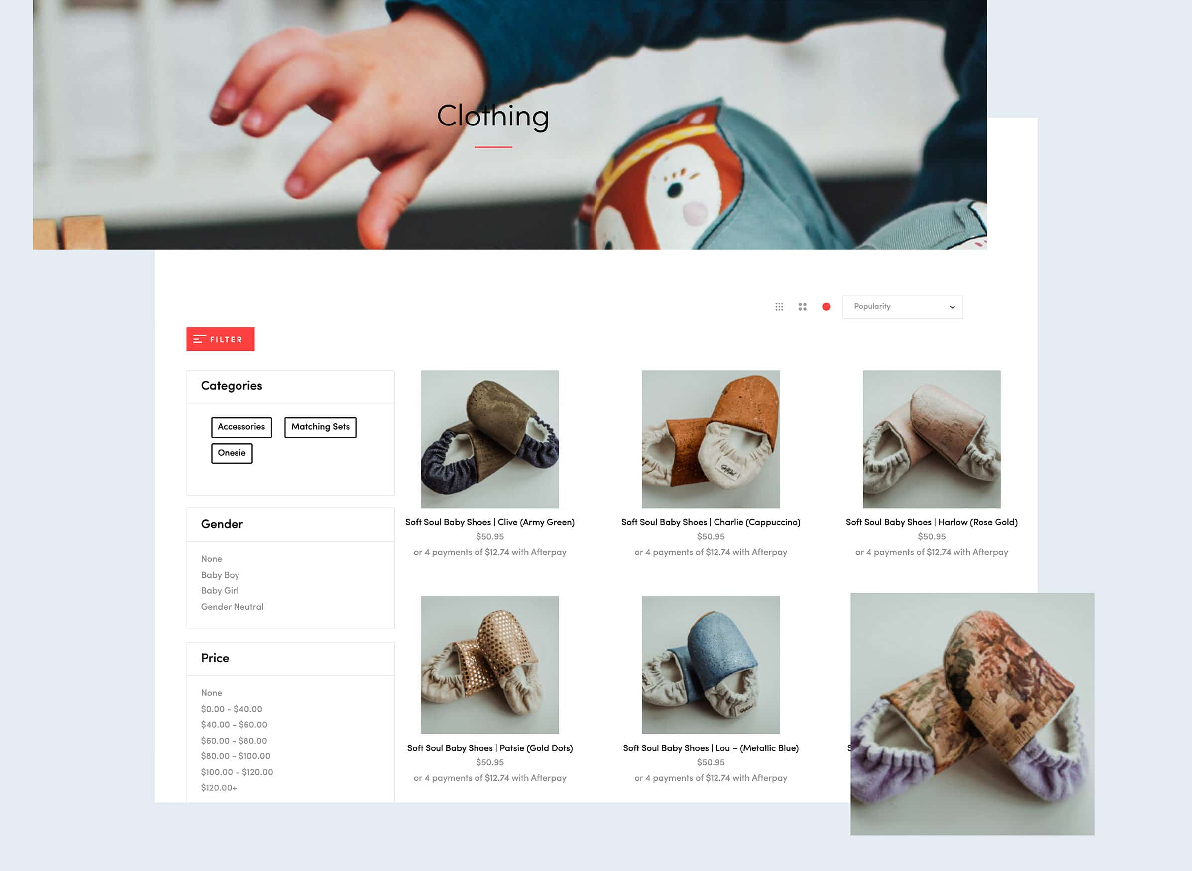 Ecommerce website design from our NZ based company