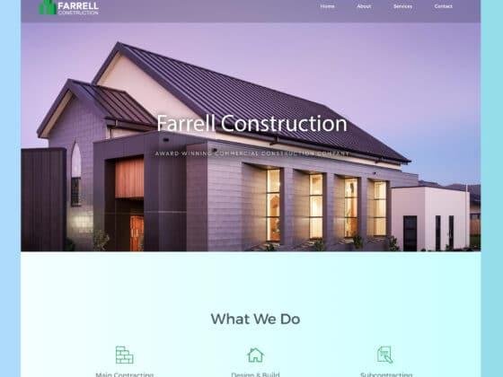 Building contractor websites