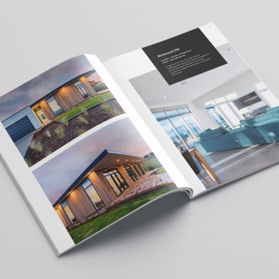 Company profile design services