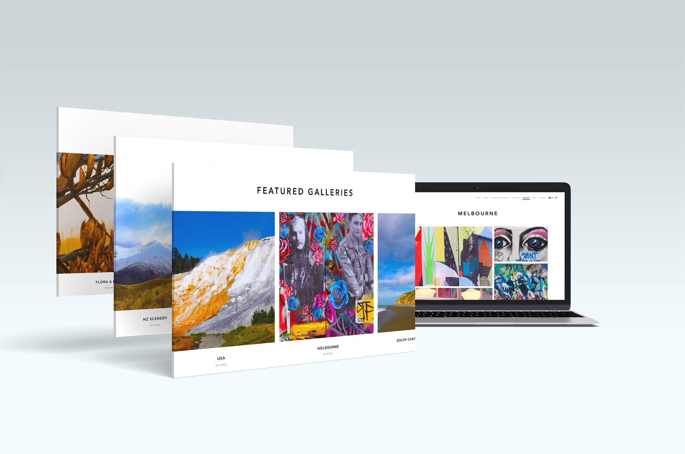 Company website for a photographer