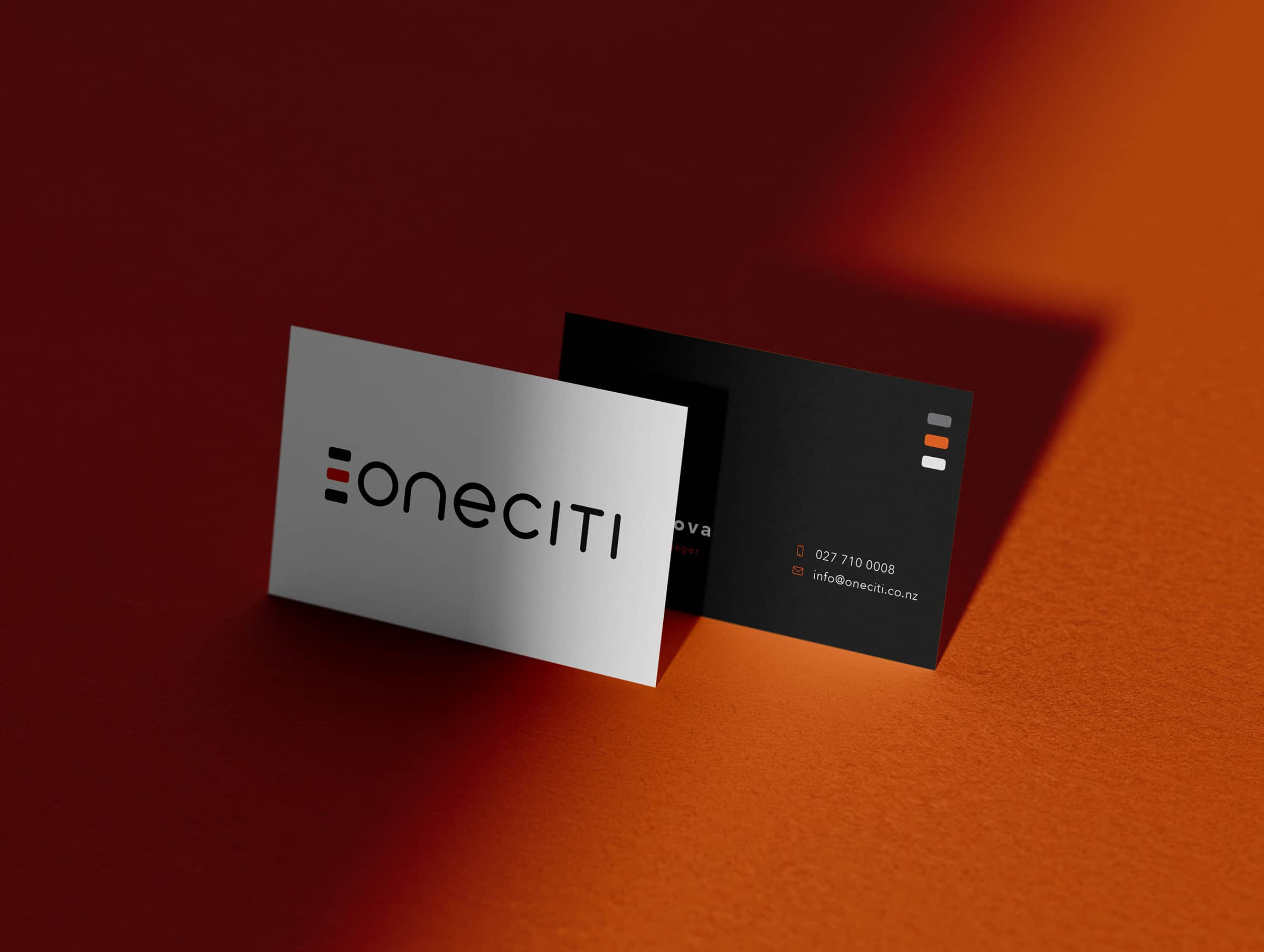 Real estate and property management business card design
