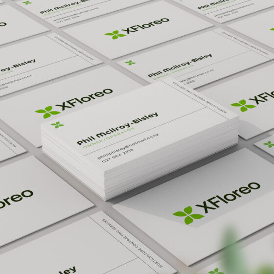 Business cards for horticulture company