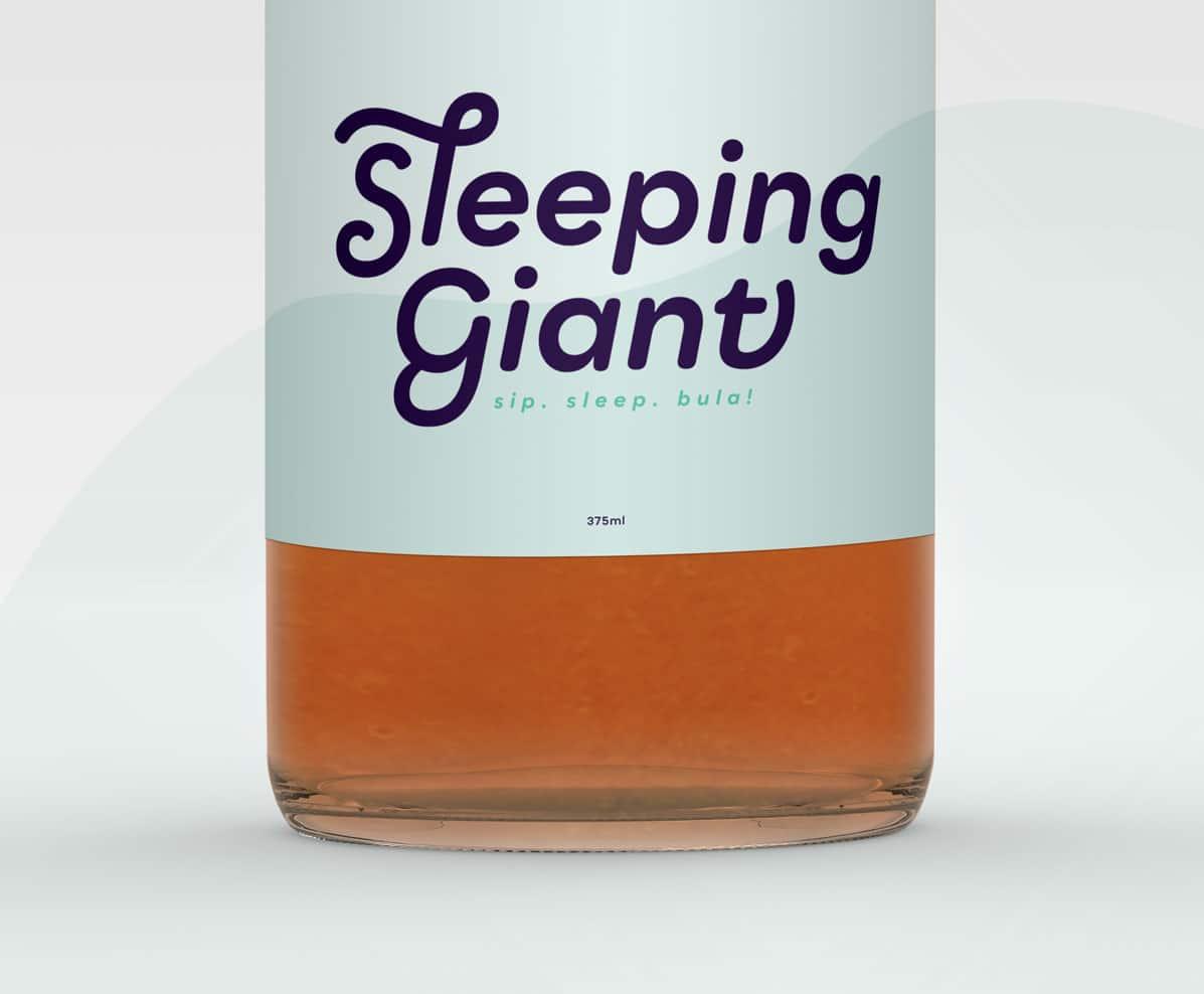 Label design for soft drink company