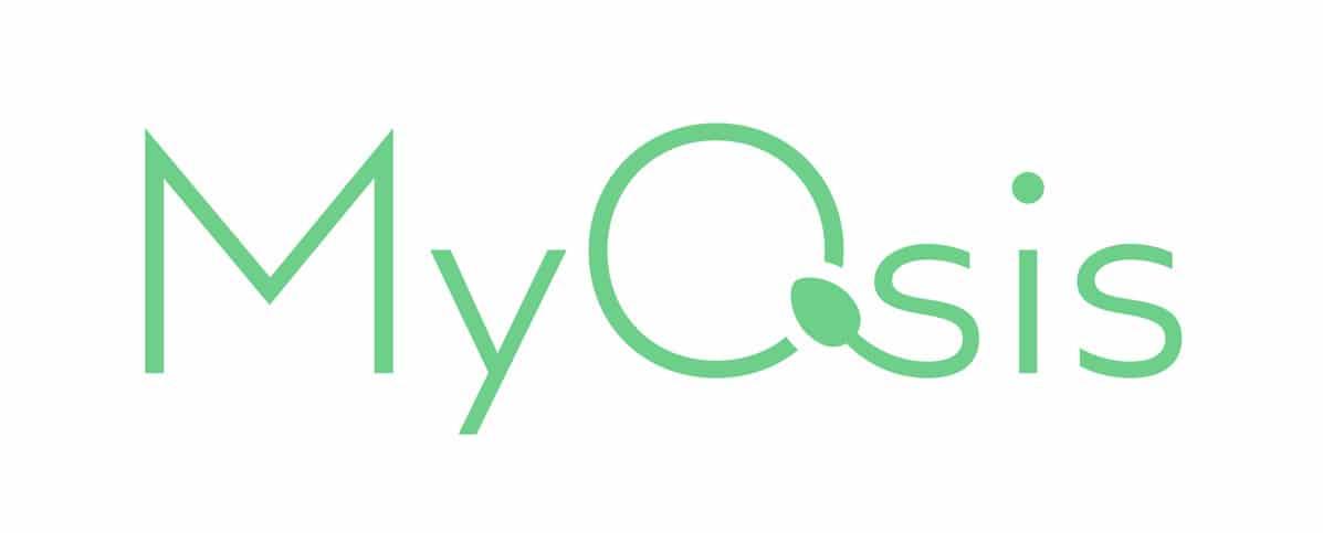 Sperm and egg logo design