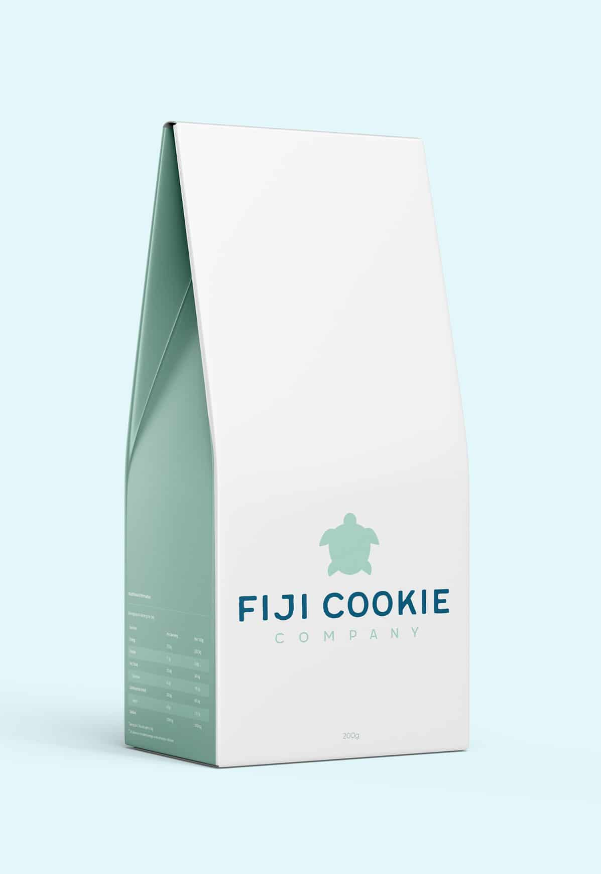 Luxurious cookie company packaging design