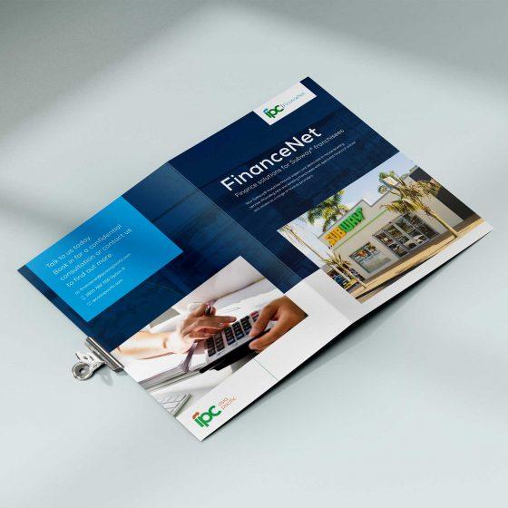 Subway franchisees brochure design